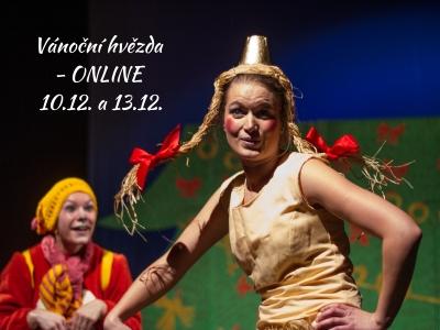 """Pohádka """"Vánoční hvězda"""" ONLINE ke shlédnutí 10.12. a 13.12. ;-)"""