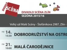 Program Divadla Scéna na únor 2016