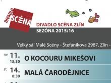 Program divadla - říjen 2015